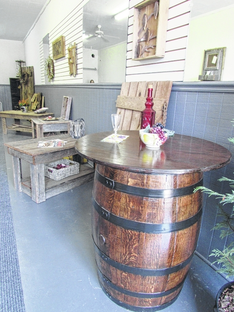 Abandoned Barns And Old Whiskey Barrels Are Transformed To Rustic Chic  Furniture And Decor Items By Artisan Kyle McDonald At Trees 2 Treasures In  Elkin.