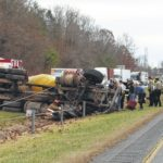 Crews respond to wreck on I-77