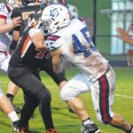 West Wilkes out-muscles Forbush in opener