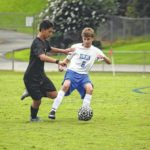 Local soccer results