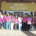 Pink Day honored at HCMH
