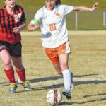 Lady Rams earn 7-0 win over Cards