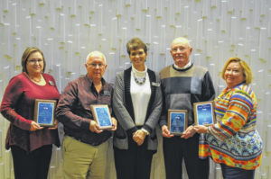 Stevensons receive awards