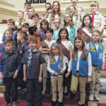 Boy and Girl Scouts recognized on Scout Sunday