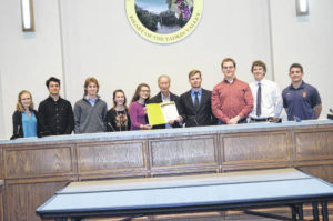 Jonesville mayor honors Beta Club