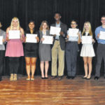 Area students participate in Rotary speech contest